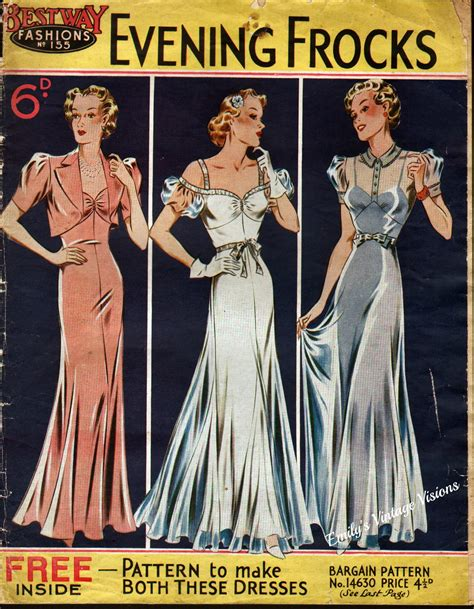 dress pattern catalogues emily s vintage visions 1930s pattern catalogs for