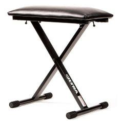 heavy duty piano bench adjustable folding piano bench stool seat by crazy cart