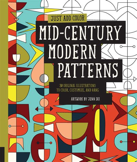 mid century patterns coloring books aren t just for kids anymore sweet paul