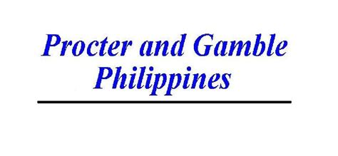 Procter And Gamble Mba Leadership Program by Procter Gamble Philippines Logopedia Fandom Powered