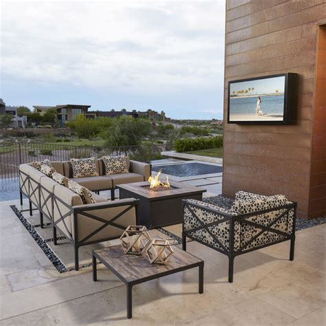 Ow Lee Creighton Right Sectional Chair 55145 R Outdoor Furniture Usa