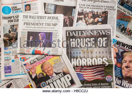 the new york daily news , the wall street journal and the