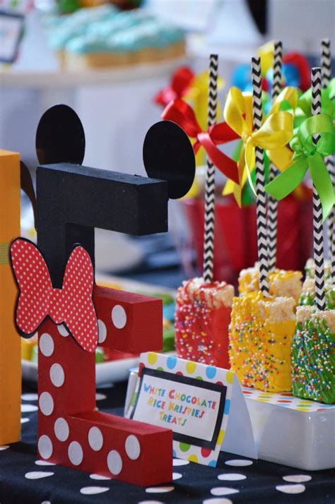 17 best ideas about mickey mouse centerpiece on