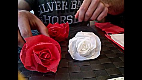 como hacer una rosa imgenes c 243 mo hacer una rosa de papel muy facil youtube