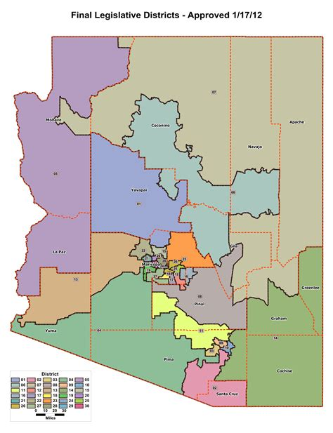us congressional district map arizona maps