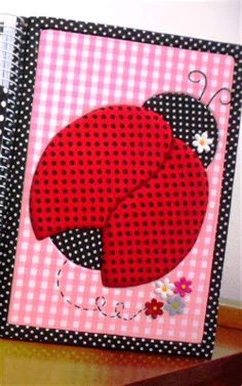 cuadernos decorados de ladybug cuaderno decorado con goma eva on pinterest puertas
