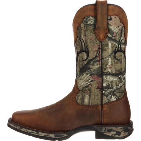 camo boots rebel by durango waterproof camo deer skull western boot