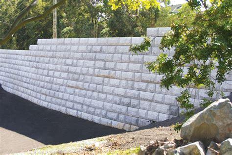 stone strong interlocking block retaining wall at gilston road gold coast concrib brisbane
