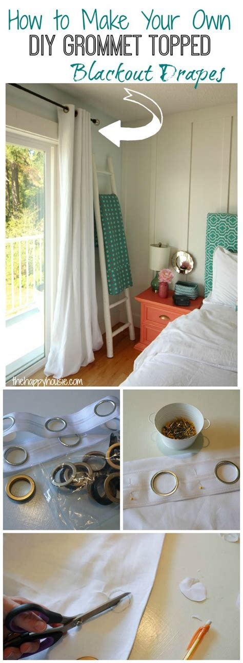 make your own grommet curtains 25 best ideas about blackout drapes on pinterest