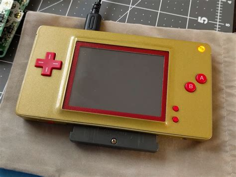 game boy mod uk got an old nintendo ds turn it into a game boy macro with
