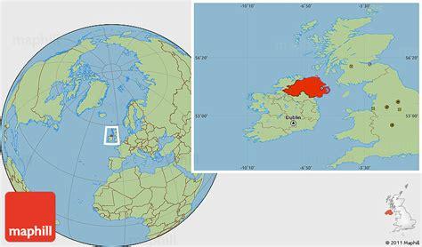 ireland location in world map timekeeperwatches