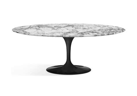 saarinen tisch saarinen oval tisch aus marmor knoll milia shop