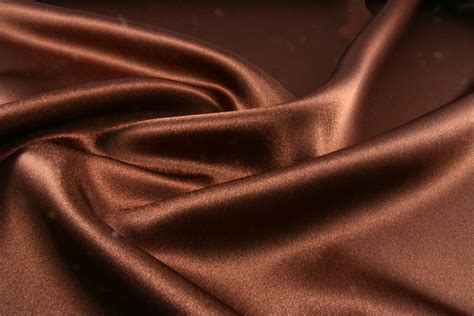Orange And Brown Home Decor by Buy Brown Satin Crepe Back Satin Fabric Sewing Fabrics