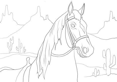 imagenes de paisajes faciles para colorear dibujos para colorear os dejamos a este caballo con un