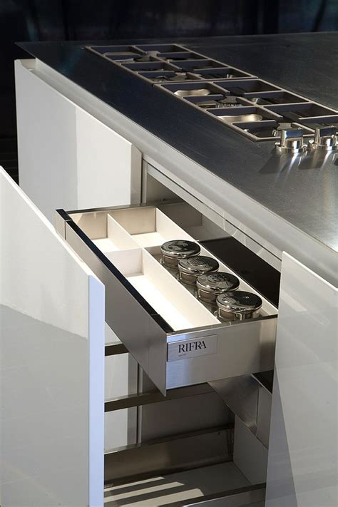 Built In Griddle Cooktop kitchen with built in griddle cooktop and downdraft vent by rifra
