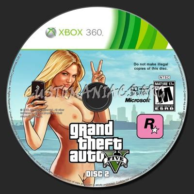 Disc Dvd New Original Ps3 Grand Theft Auto V Kaset Cd grand theft auto 5 dvd label dvd covers labels by customaniacs id 198584 free