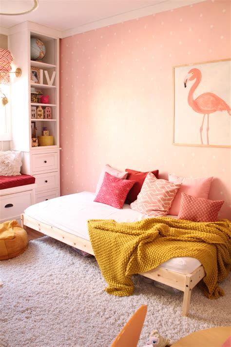 Small Living Room Ideas On A Budget A New Daybed For The Girls Room Pepper Design Blog