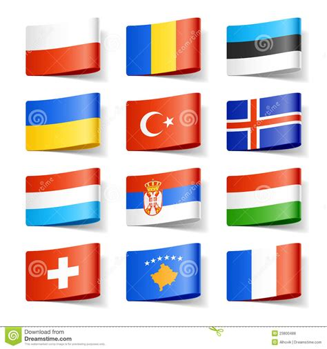 flags of the world x plane download world flags europe royalty free stock photos image