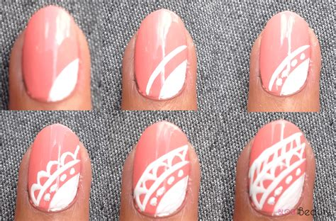 Stap Voor Stap Nailart by Tutorial Nail Bridal Lace