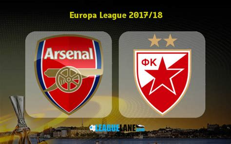 arsenal europa league 2017 arsenal vs red star belgrade preview predictions and