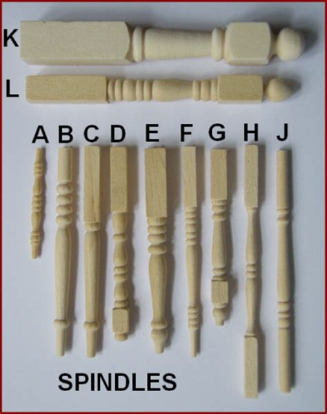 dolls house mouldings miniature spindles and mouldings for the dolls house