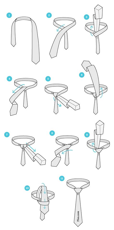 how to tie a knot ties