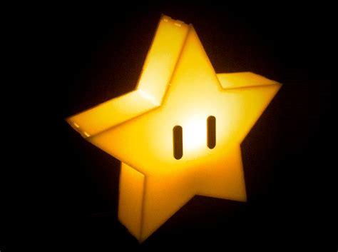 Mario Mushroom Lamp by Super Mario Brothers Star Lamp The Plasmatorium