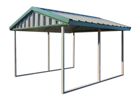 pws premium 10 ft x 12 ft canopy carport with enclosure