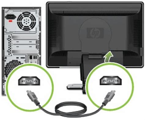 port scan my computer hp and compaq desktop pcs connecting speakers or