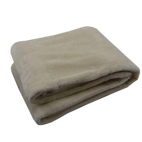 decke flauschig fleece decke kuscheldecke flauschdecke creme 150x200cm