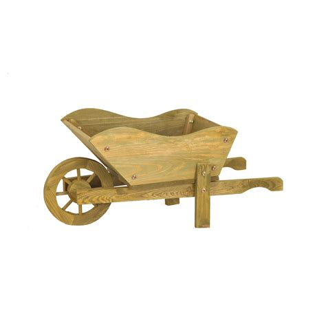 Wheelbarrow Planter by Woodland Wheelbarrow Planter Garden D 233 Cor Thirsk