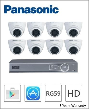 Panasonic Dvr 8ch Cj Hdr108 malaysia cctv packages price