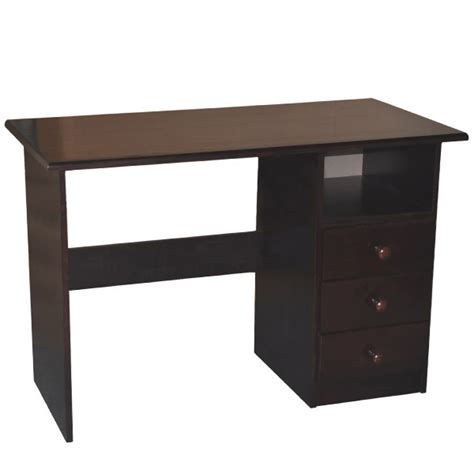 Solid Wood Computer Desk Espresso Student Desks For Kids Desk For Student