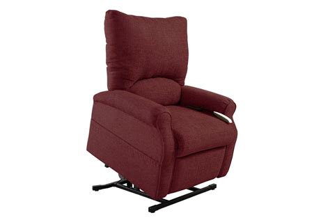 burgundy recliner chair elk burgundy lift chair at gardner white