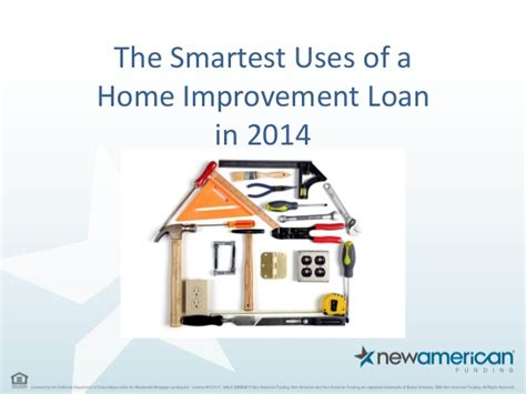 smartest uses of a home improvement loan in 2014