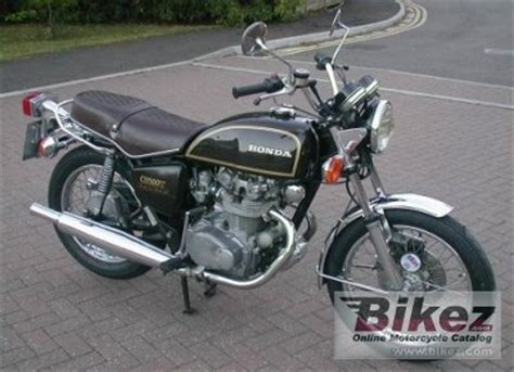 1975 honda cb 500 t specifications and pictures
