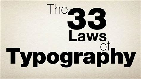 typography tutorial lynda the 33 laws of typography lynda com