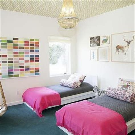 Wallpaper Home Decor pink and yellow kids bedding design ideas