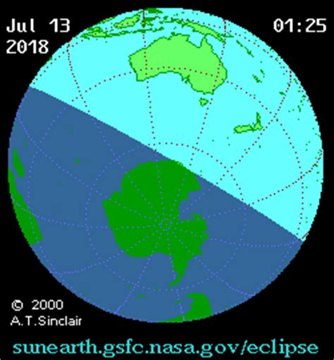 solar eclipse of july 13, 2018