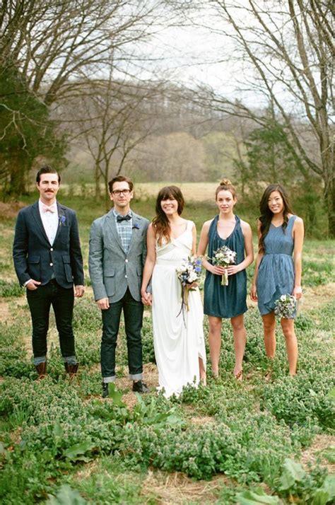 inspiration  denim wedding  wed