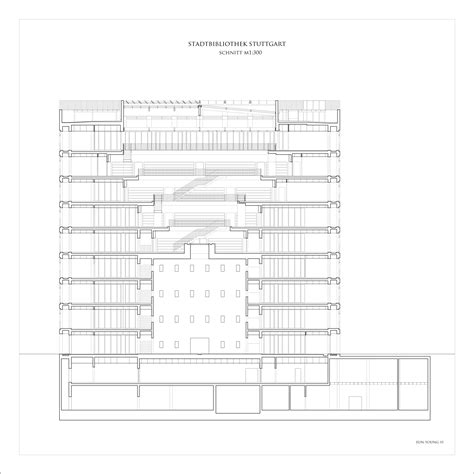 Stuttgart Library by Gallery Of Stuttgart City Library Yi Architects 7