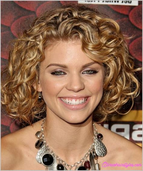 medium curly haircut for round face allnewhairstyles com medium length curly haircuts for round faces