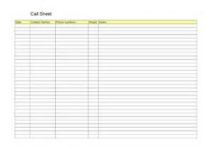 Simple Call Sheet by Call Sheet Template Helloalive