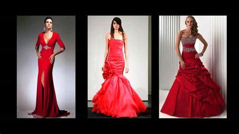 Hochzeitskleid Mit Rot by Rote Brautkleider