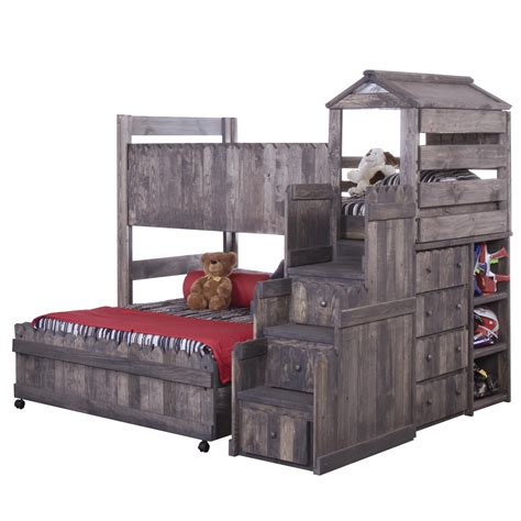 fort bed matelic image trendwood fort loft bed