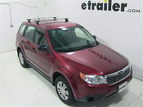 thule roof rack for 2009 subaru forester etrailer