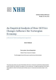 structural vector autoregressive analysis themes in modern econometrics books an empirical analysis of how price changes influence
