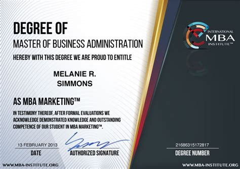 Of Marketing Mba by What Is Usd 597 Mba Marketing Degree Program