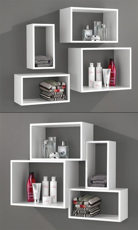 Badezimmer Ablage Dekoration by Windows W 252 Rfelregal Set Als Ablage F 252 R Kosmetikartikel
