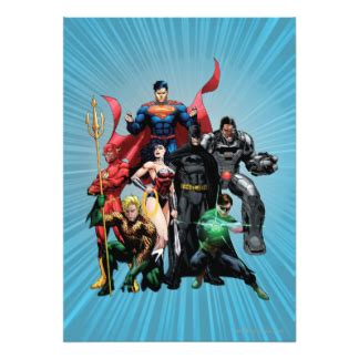 justice league printable birthday cards wonder woman invitations party invites zazzle